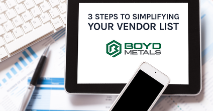 3 Steps to Simplifying Your Vendor List