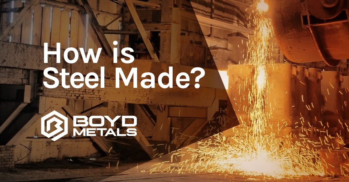 Ever wondered how steel is made? Read on to find out!