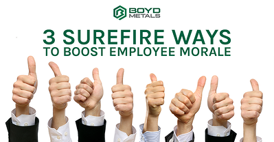 3 Surefire Ways to Boost Employee Morale