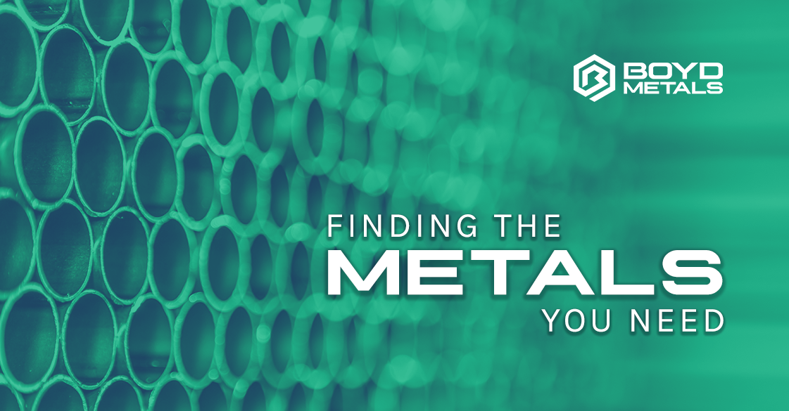 Boyd Metals: Find the Metals You Need