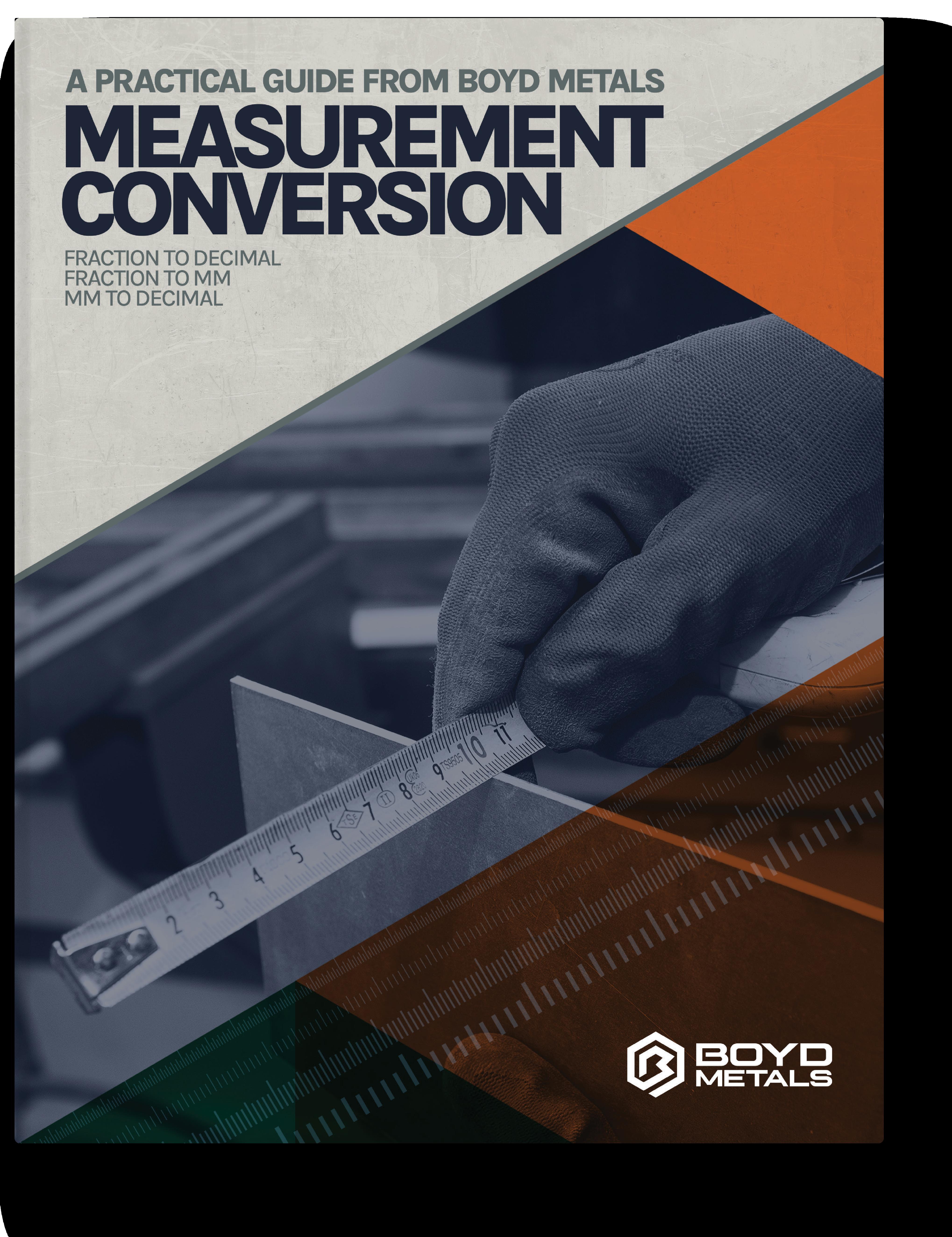 Boyd Metals Conversion Chart
